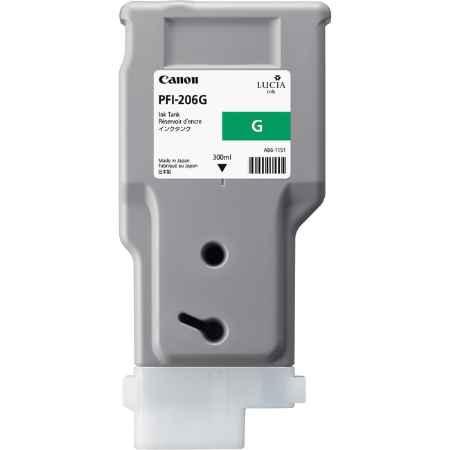 Купить Canon PFI-206 G зеленого цвета