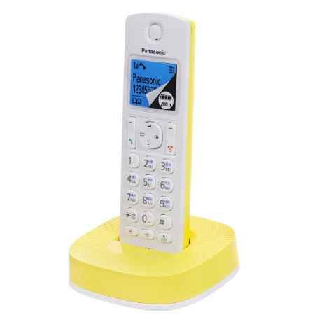 Купить Panasonic KX-TGC310RUY белый/желтый
