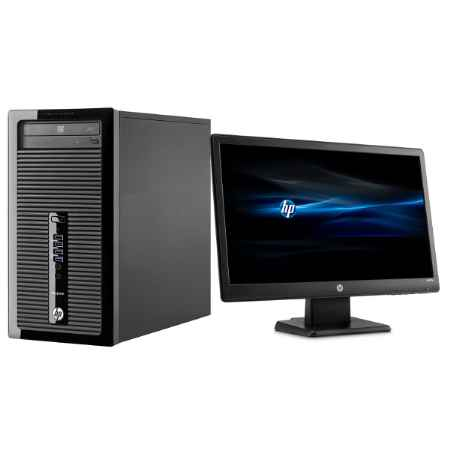 Купить HP ProDesk 400 G2 MT Bundle J4B28EA Intel Core i3 / i3-4150 / 3.5 ГГц / 4 ГБ PC3-12800 DDR3 SDRAM / 500 ГБ / Intel HD Graphics 4400 / DOS / микротауэр