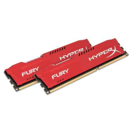 Купить Kingston HyperX Fury Red HX318C10FRK2/16