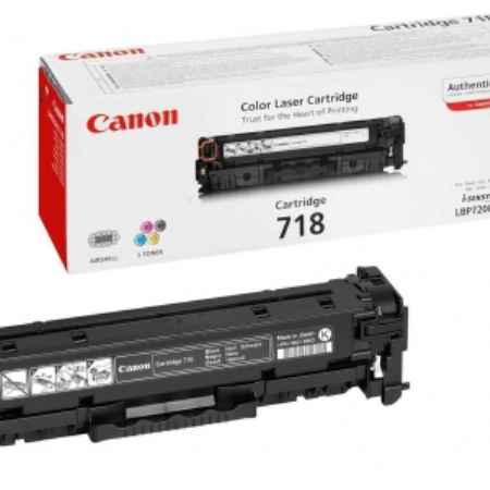 Купить Canon для принтеров LBP7200, MF8330/8350 718 черного цвета 3400 страниц