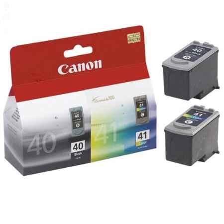 Купить Canon для принтеров Pixma MP450/MP150/MP170/iP1600/iP2200/iP6210D PG-40 + CL-41 черного цвета
