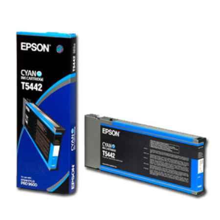 Купить Epson для принтера Stylus Pro 9600 T5442 голубого цвета