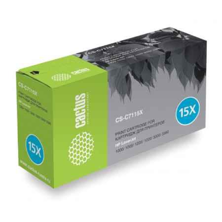 Купить Cactus для принтеров HP LaserJet 1000/ 1005/ 1200/ 1220/ 3300/ 3380 CS-C7115X