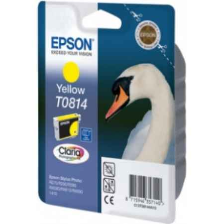 Купить Epson для принтеров Stylus Photo R270/R290/RX590 T0814 желтого цвета