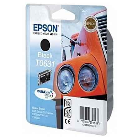 Купить Epson для многофункциональных устройств Stylus CX3700/4100/4700 и принтеров C67/87 T0631 черного цвета 250 страниц
