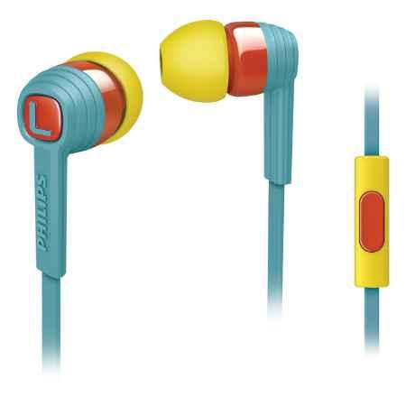 Купить Philips SHE7055BR/00 голубого цвета
