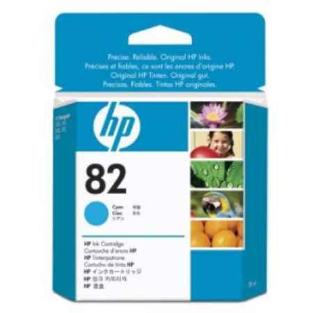Купить HP для принтеров DesingJet 510 82 голубого цвета