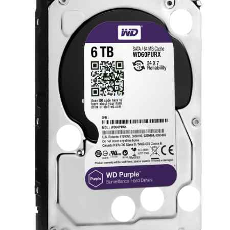 Купить Western Digital Purple WD60PURX WD60PURX 6 ТБ IntelliPower