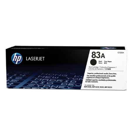 Купить HP для многофункциональных устройств LaserJet Pro MFP M125/M127 83A черного цвета 1500 страниц