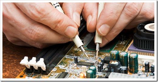Мастер ремонта электроники вряд ли может быть несведущим в IT