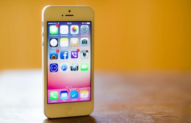 Как препрошить  iphone 5c