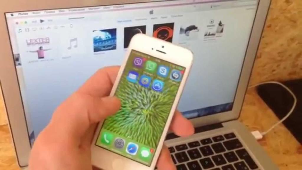 Как прошить iphone 5c