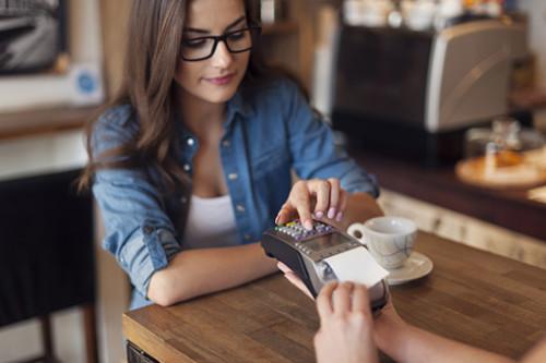оплата в кафе по терминалу