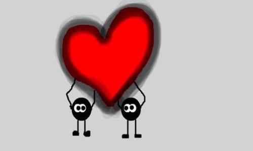 Накрутка сердечек