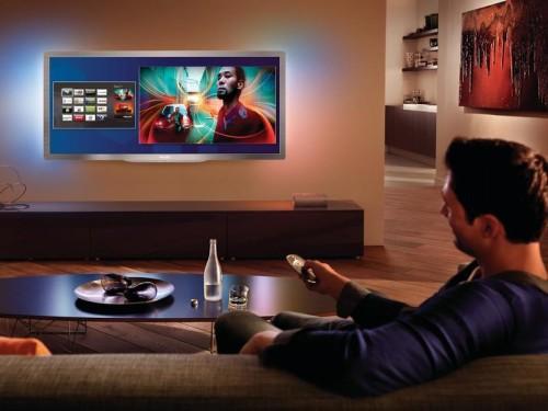 Смарт ТВ в интерьере