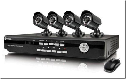 Подключение видеокамеры при помощи витой пары