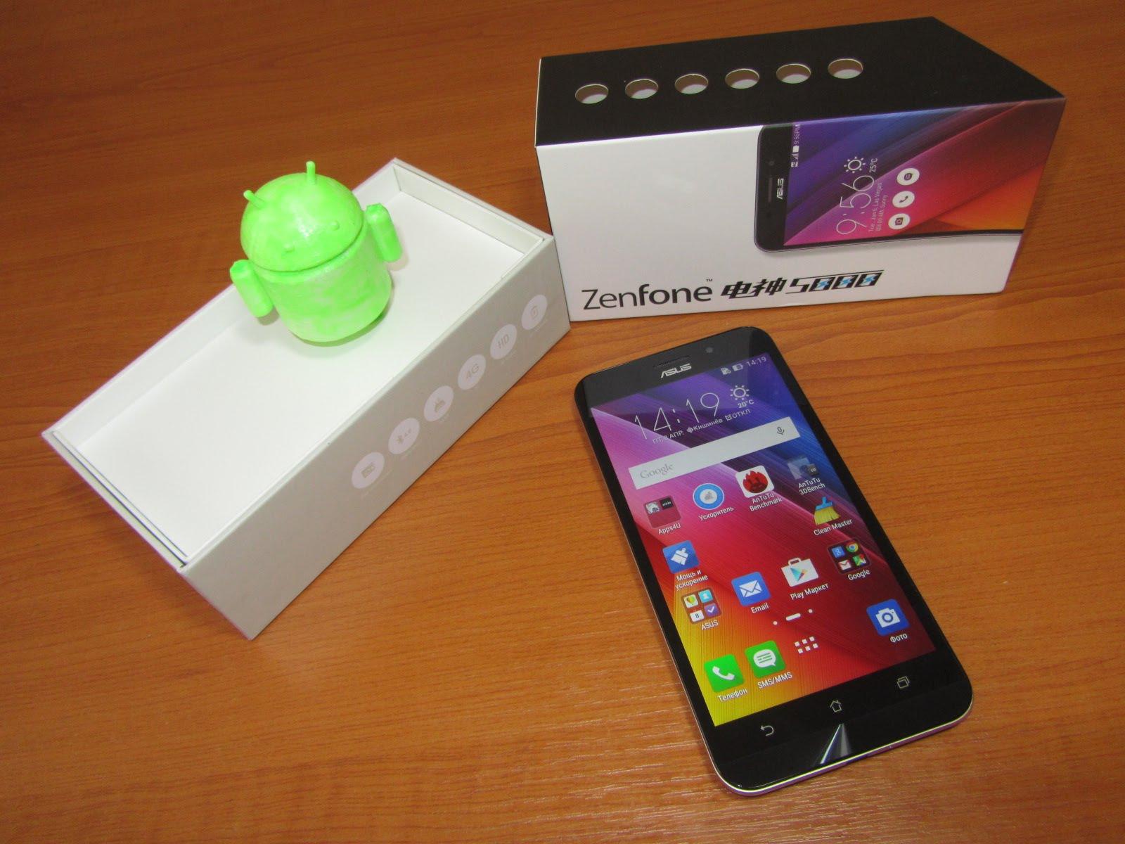 Характеристики Asus Zenfone max zc550kl