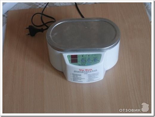 Как пользоваться ультразвуковой ванной?