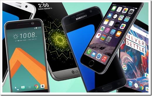 Разновидности мобильных телефонов