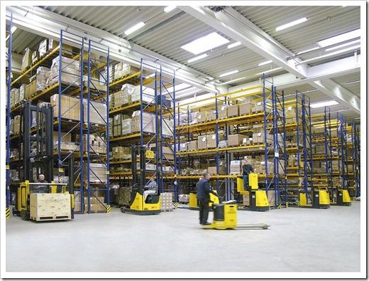 Существующие разновидности складского оборудования