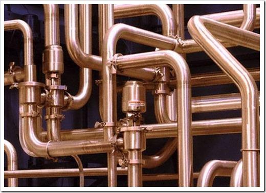 В чём кардинальное отличие металлопластиковых труб