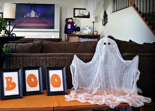 Как оформить комнату на Хэллоуин