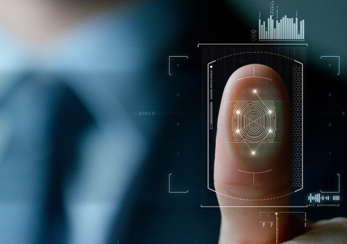 Как настроить сканер отпечатка пальца
