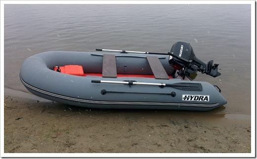 Технические особенности лодки HYDRA Nova 350