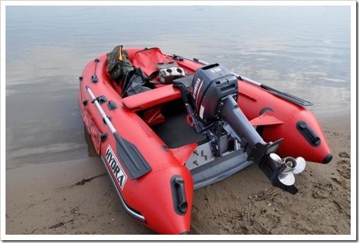 Форма лодки и её преимущества