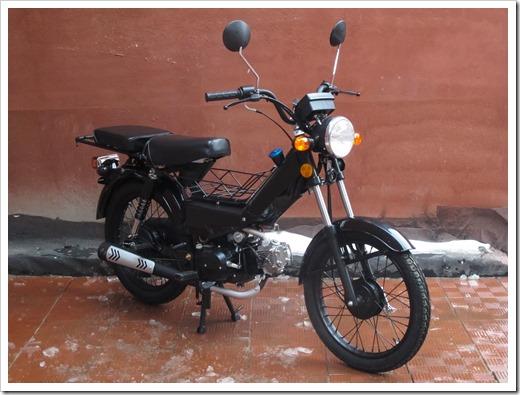 Промежуточный этап к мотоциклу