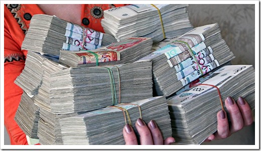 Дополнительные услуги: денежный перевод