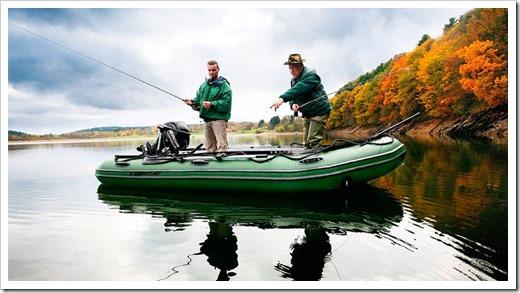Как правильно выбрать надувную лодку для рыбалки?