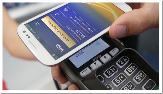 Как выполнить оплату через NFC в магазине?