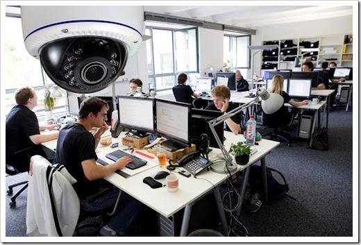 Технология монтажа видеонаблюдения в офисе