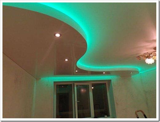 Многоуровневые натяжные потолки - что это и как делают их монтаж