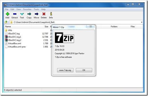 Базовые преимущества использования 7zip